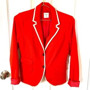Gap Red Academy Blazer Suit Jacket
